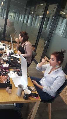 Cours de maquillage